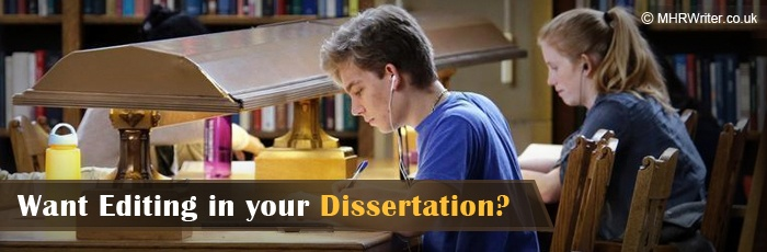 Editing services for dissertation