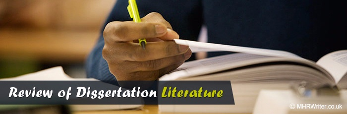 How to write a literature review based dissertation