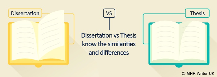 Dissertation vs Thesis - Know the Similarities & Differences