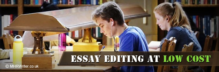 Essay editing services