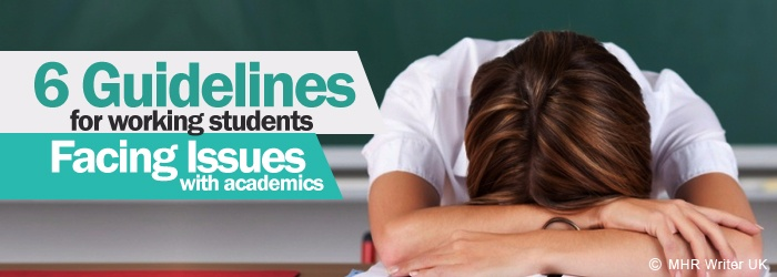 Guidelines for Working Students Facing Issues