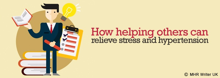 Helping Others Can Relieve Stress and Hypertension