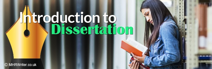 How to write introduction to dissertation